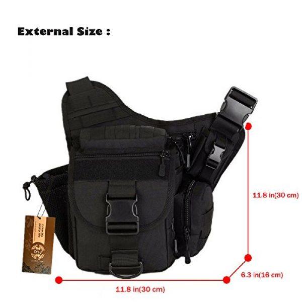 DYJ Tactical Backpack 4 DYJ Multi-Functional Tactical Camera Messenger Bag Fishing Tackle Bag Military Shoulder Bag Backpack EDC Sling Pack for Hiking Camping Trekking Cycling