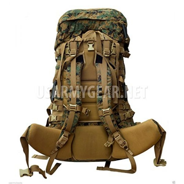 Propper Industries Tactical Backpack 2 Usmc Gen 2 Marpat Tan Woodland Ilbe Main Pack with Lid Belt Complete Arcyteryx