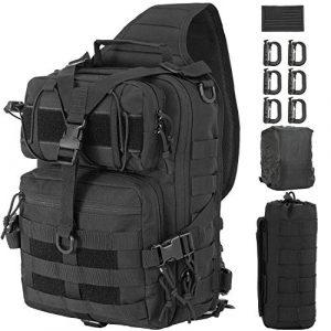 GZ XINXING Tactical Backpack 1 GZ XINXING Tactical Sling Military Shoulder Backpack EDC Assault Range Bags