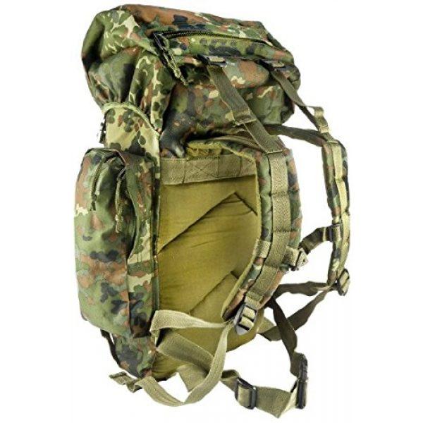 Mil-Tec Tactical Backpack 2 Mil-Tec Rucksack 35L Flecktar Camo Backpack