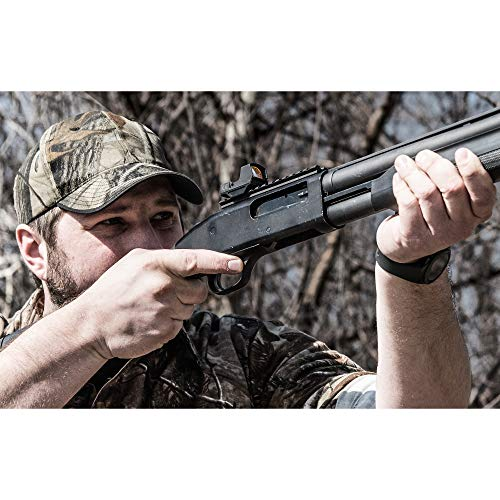 UTG Rifle Scope 3 UTG Reflex Micro Dot, Red 4 MOA Single Dot, Adaptive Base, Black