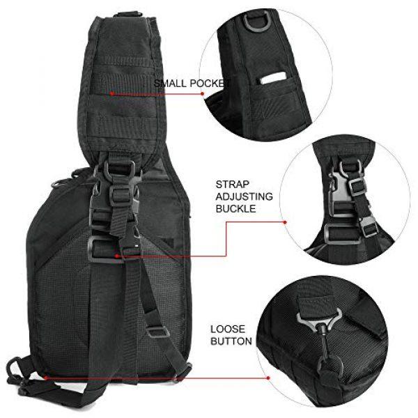 J.CARP Tactical Backpack 4 J.CARP Tactical Sling Bag Pack Military Rover Shoulder Sling Backpack Small