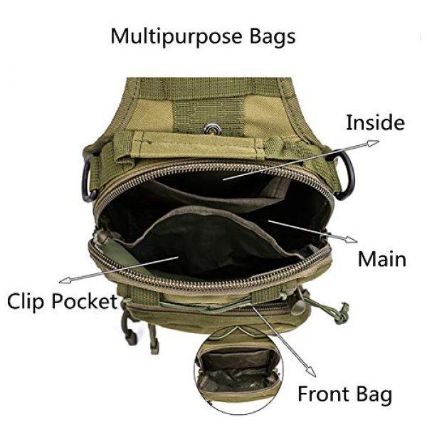 esbuy Tactical Backpack 4 Tactical Backpack Outdoor Shoulder Bag Satchel Sling Chest Packs Daypacks