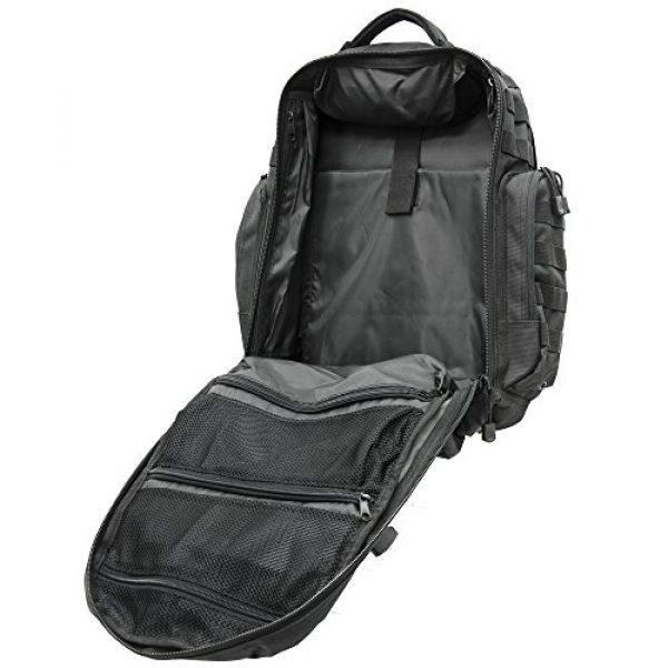 UTG Tactical Backpack 7 UTG 2-Day Situational Preparedness Pack, Black