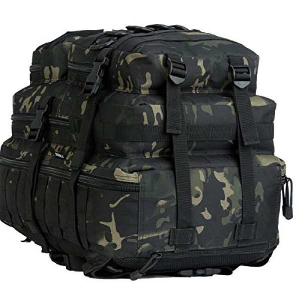 GZ XINXING Tactical Backpack 4 GZ XINXING 43L Large 3 day Molle Assault Pack Military Tactical Army Backpack Bug Out Bag Rucksack Daypack