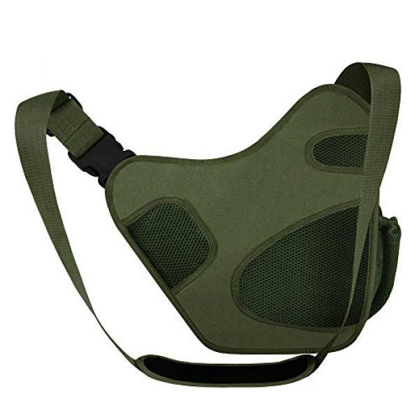 East West U.S.A Tactical Backpack 3 East West U.S.A RT511 Tactical Shoulder Sling Trail Pack with bottle holder