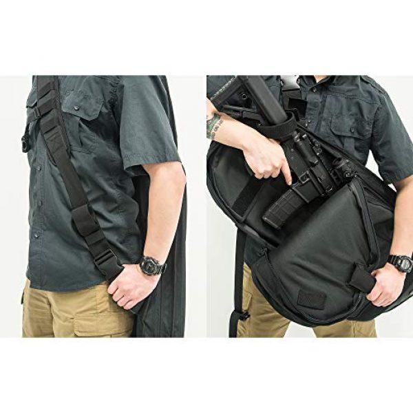 "UTG Tactical Backpack 6 UTG 34"" Alpha Battle Carrier Rapid Deployment Pack, Black (PVC-PSP34B)"