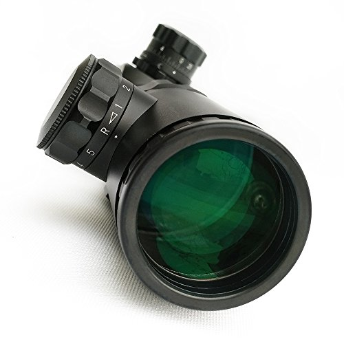 SECOZOOM Rifle Scope 4 Secozoom Mira Telescopica 30MM Diameter 1-10X24 w/e Adjustable Telescopic Sights