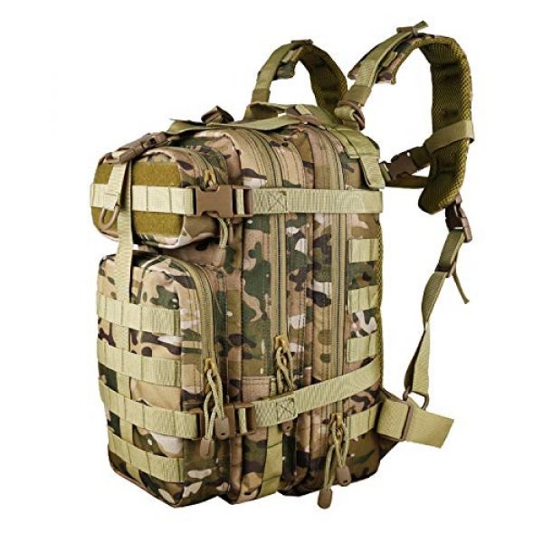 X&X Tactical Backpack 1 X&X Hiking Daypacks Hydration Pack Tactical Backpack Waterproof for Outdoor Travel Camping School (Bladder no Included)