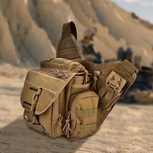 Vbestlife Tactical Backpack 5 2Colors Durable Men Military Chest Shoulder Bag Pack Military Sling Bag Chest