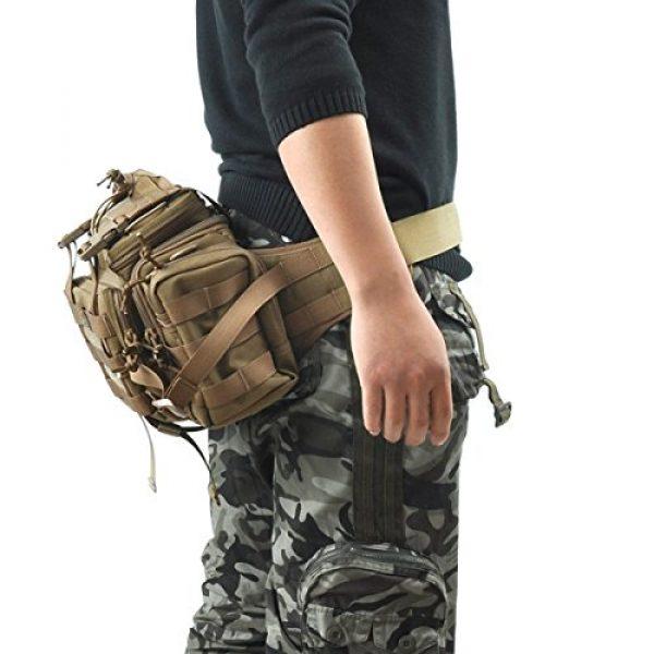 SHANGRI-LA Tactical Backpack 7 SHANGRI-LA Tactical Range Bag Outdoor Sling Backpack Hiking Fanny Waist Pack