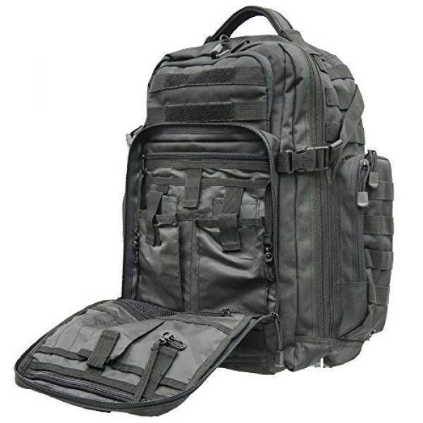 UTG Tactical Backpack 6 UTG 2-Day Situational Preparedness Pack, Black