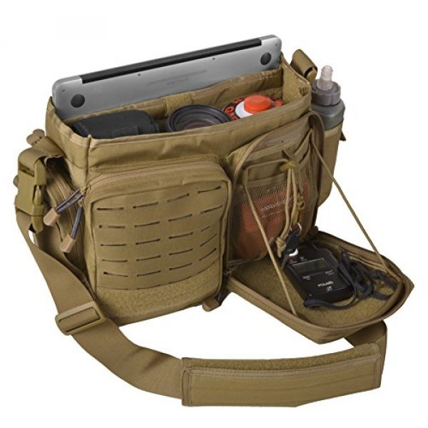 Direct Action Tactical Backpack 3 Direct Action Messenger Tactical Bag 10 Liter Capacity, Ideal for Laptop, ipad or Tablet