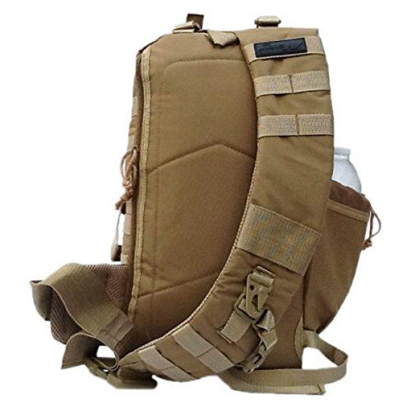 "Nexpak Tactical Backpack 2 18"" 1200cu. in. Tactical Sling Shoulder Hiking Backpack TL318 TAN"