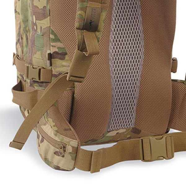 Tasmanian Tiger Tactical Backpack 6 Tasmanian Tiger Mission Pack Mk II, 37L Combat Backpack with Laser Cut MOLLE System, YKK RC Zippers