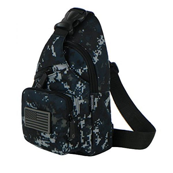 East West U.S.A Tactical Backpack 2 East West U.S.A RTC528 Tactical Camouflage Military Sling Chest Utility Pack Bag