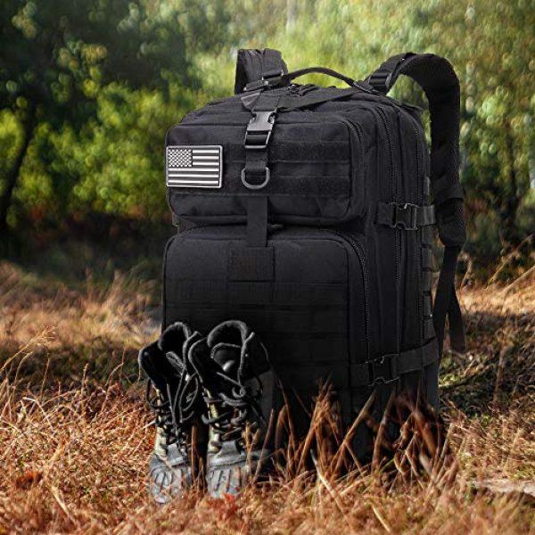 EMDMAK Tactical Backpack 7 EMDMAK Military Tactical Backpack, 42L Large Military Pack Army 3 Day Assault Pack Molle Bag Rucksack for Outdoor Hiking Camping Hunting