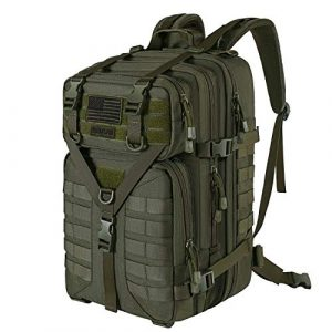 MOSISO Tactical Backpack 1 MOSISO 50L Tactical Backpack, Large Men 3 Day Assault Rucksack Military Daypack