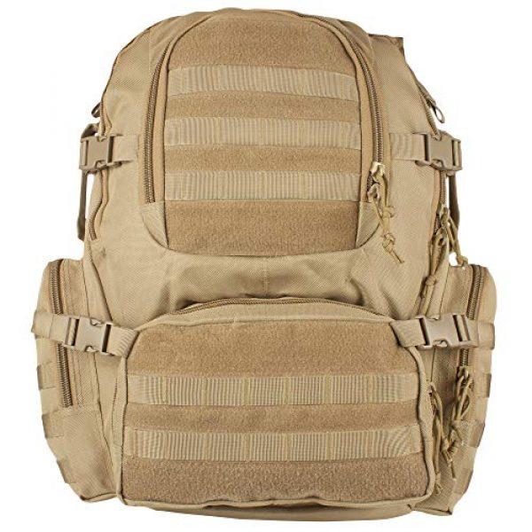 Fox Outdoor Tactical Backpack 2 Fox Outdoor Products Field Operator's Action Pack, Coyote