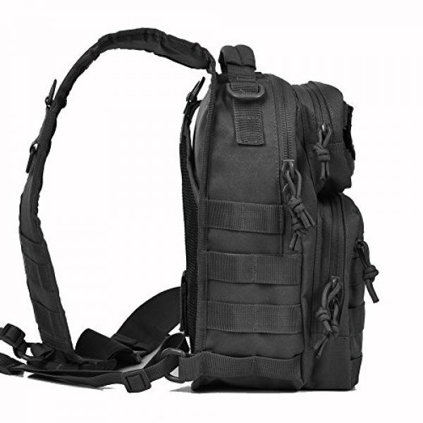 REEBOW GEAR Tactical Backpack 4 REEBOW GEAR Tactical Sling Bag Pack Military Rover Shoulder Sling Backpack Small