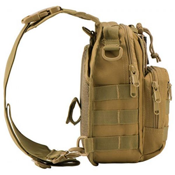 Luckin Packin Tactical Backpack 3 Luckin Packin Tactical Sling Bag,Military Rover Shoulder Sling Backpack,Tactical Sling Pack