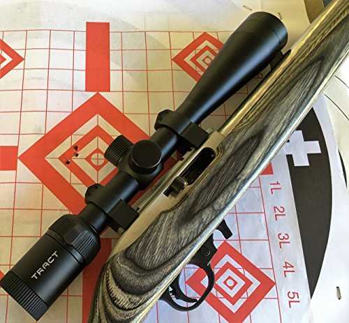 Tract Rifle Scope 4 Tract 22 FIRE 4-12x40 Rimfire Scope w/BDC Reticle - Rimfire Optics Designed to Perform at Long Range
