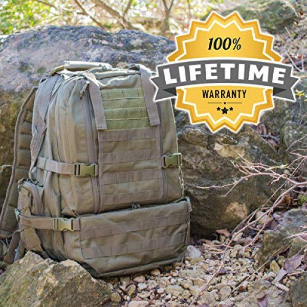 """Explorer Tactical Backpack 7 Explorer 22"""" Waist Gun PouchesTactical Backpack"""