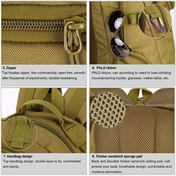 Huntvp Tactical Backpack 6 Huntvp 25L Tactical Backpack Rucksack WR Tactical Assault Pack Military Bag