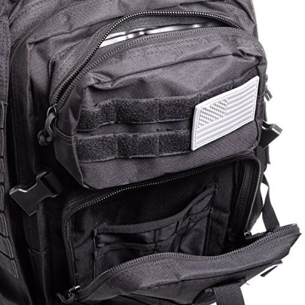 XFINDER POWERED BY PINE GROVE POWERSPORTS Tactical Backpack 5 XFinder Military Tactical Backpack/Sling Bag Molle Bug Out Bag Combat Pack Comfortable Backpack