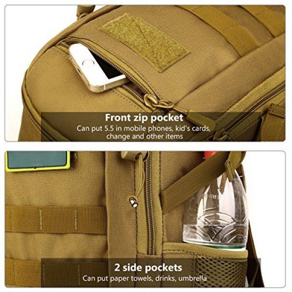 ArcEnCiel Tactical Backpack 5 ArcEnCiel Small Tactical Backpack Military MOLLE Daypack Gear Assault Pack School Camping Bag