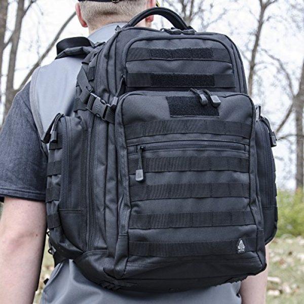 UTG Tactical Backpack 5 UTG 2-Day Situational Preparedness Pack, Black