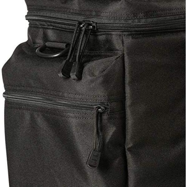 5.11 Tactical Backpack 6 5.11 Tactical Basic Patrol Bag 37 Liters, Adjustable/Removable Shoulder Strap, Style 56523, Black