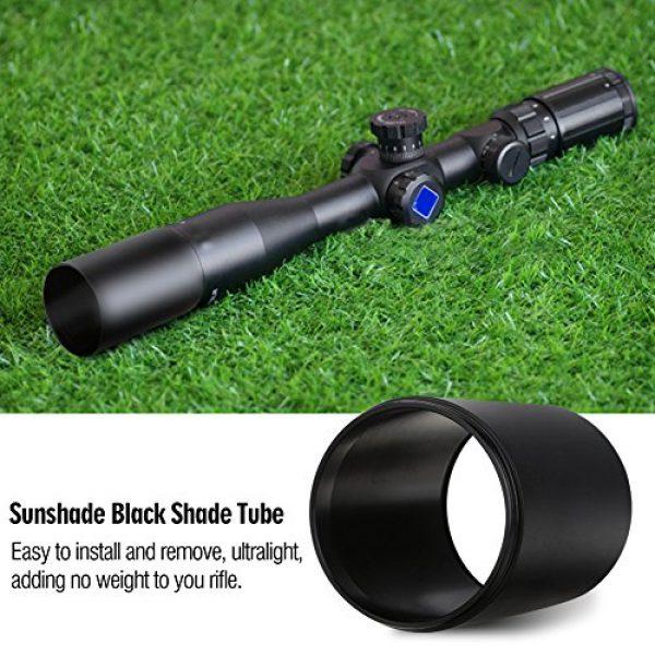 Stronerliou Rifle Scope 2 Stronerliou Advanced Optic Rifle Sunshade Black Shade Tube for Standard Rifle Scope