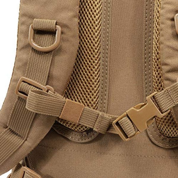 Norfuma Tactical Backpack 7 Norfuma Outdoor Tactical Hiking Camping Cycling Rack Bag Hydration Bag 36L-45L