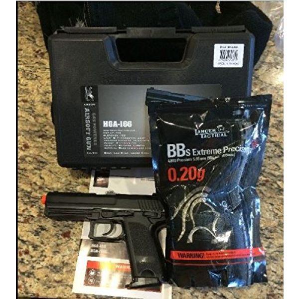 HFC Airsoft Pistol 1 HFC hga-166 gas blowback metal silde airsoft pistol semi/full auto(Airsoft Gun)