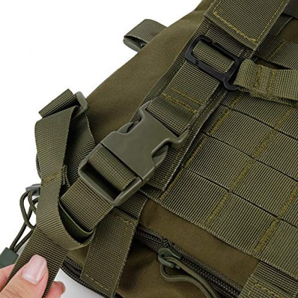 Huenco Tactical Backpack 7 Huenco Tactical MOLLE Military Day Pack Variable Capacity Assault Backpack for Adventure Traveling School
