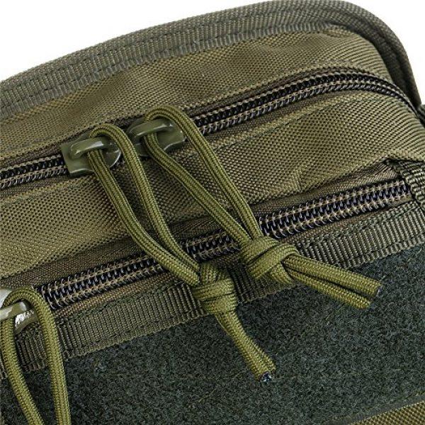 ABD Tactical Backpack 6 ABCAMO Nylon Waterproof Solid Color Outdoor One Shoulder Tactical Sport Bag