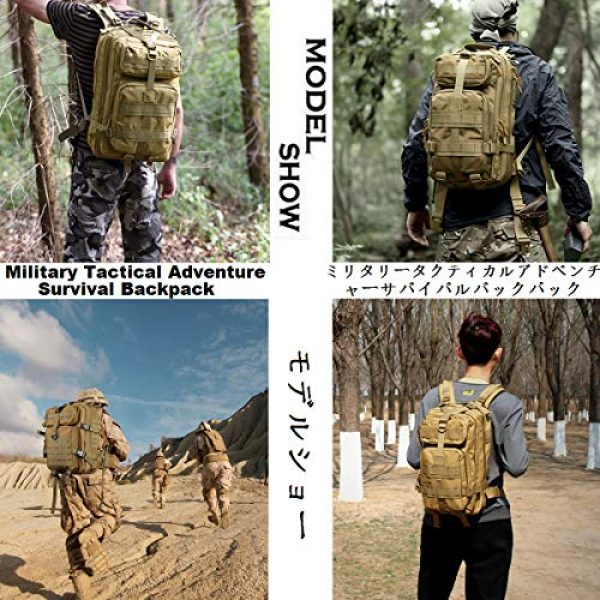 ATBP Tactical Backpack 7 ATBP Tactical Rucksack Backpack Military Hunting Hiking Daypack Large Army Molle Backpack