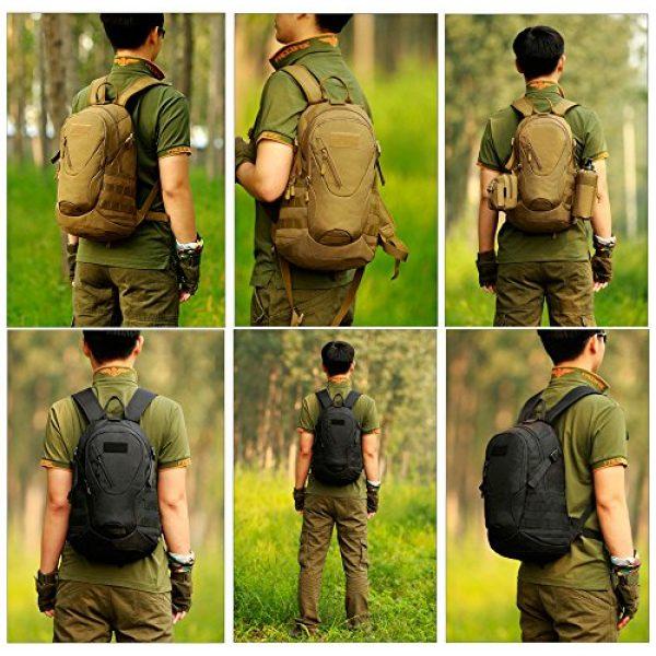 Huntvp Tactical Backpack 7 Huntvp Military MOLLE Backpack Rucksack Gear Tactical Assault Pack Student School Bag 20L for Hunting Camping Trekking Travel