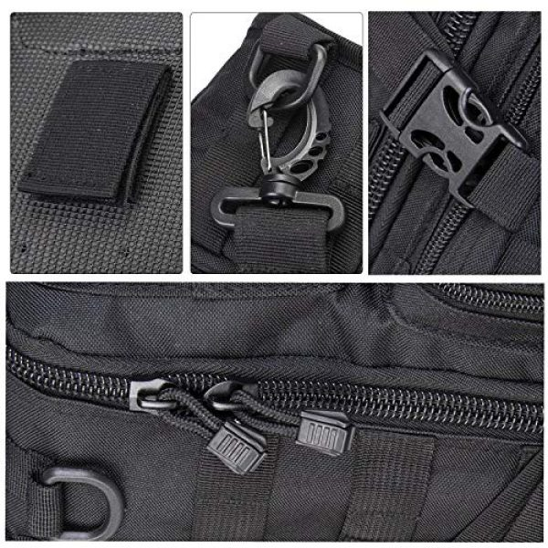 hopopower Tactical Backpack 5 Tactical Sling Bag Pack Military Shoulder Backpack Everyday Carry Bag,20L