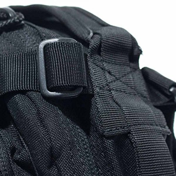 West Coast Paracord Tactical Backpack 6 West Coast Paracord Tri-Glides - Multiple Pack Sizes and Lengths - Webbing, Backpacks, Duffel Bags, and More