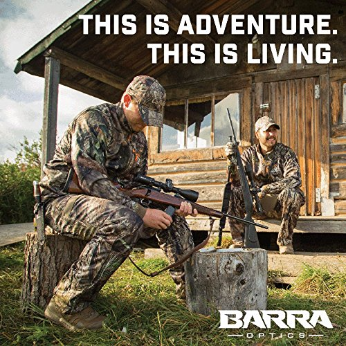 Barra Rifle Scope 4 Barra Rifle Scope, FT 4-20x50 [Made in Japan] for Hunting and Tactical Shooting Mildot Reticle