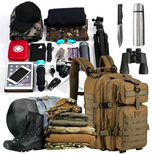 RUPUMPACK Tactical Backpack 6 RUPUMPACK Military Tactical Backpack Army MOLLE Hydration Bag 3 Day Rucksack Outdoor Hiking School Daypack 33L