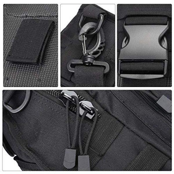 hopopower Tactical Backpack 5 Hopopower Tactical Sling Bag Pack Crossbody Shoulder Backpack Sport Daypack for Men