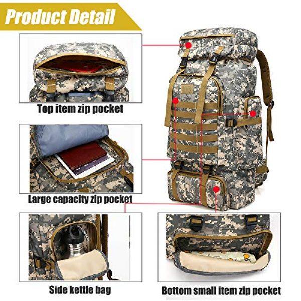 ÖSSZEFUT Tactical Backpack 3 Military Tactical Backpack 70L/80L Large Camping Hiking Backpack for men Rucksack Waterproof Traveling Daypack