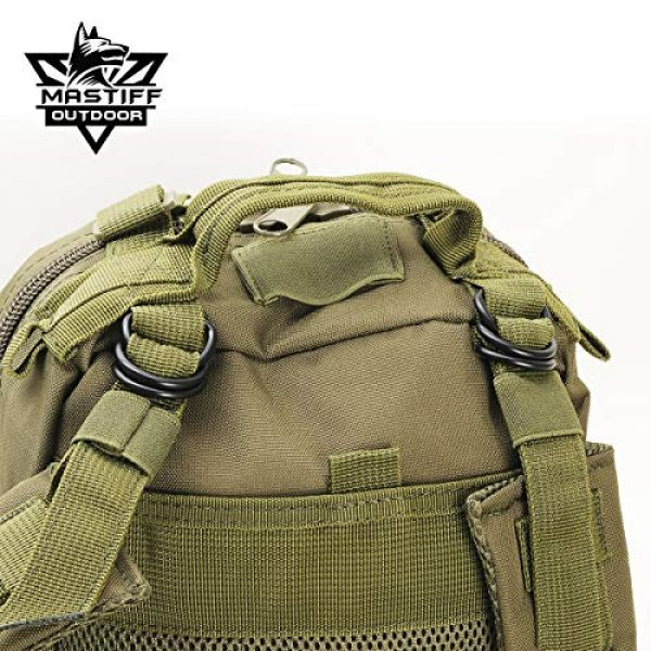 Mastiff Outdoor Tactical Backpack 5 Military Tactical Pack Backpack Army Molle Bug Out Bag Small Rucksack Outdoor Hiking Camping Trekking Hunting