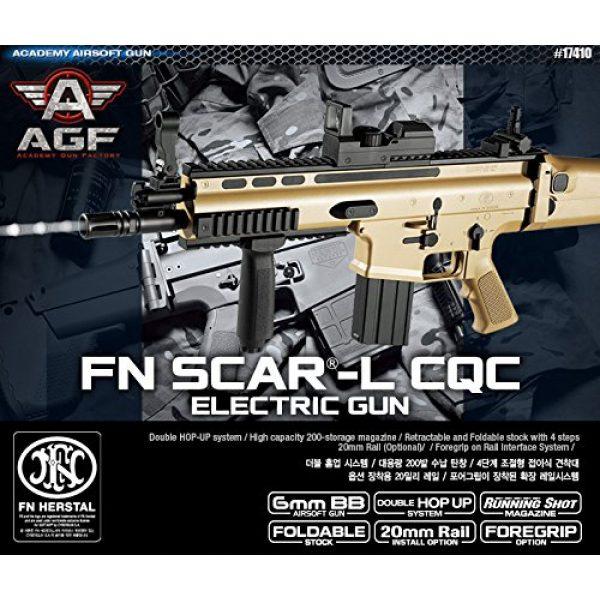 K-Crew Airsoft Rifle 1 K-Crew Academy FN Scar-L CQC Automatic Electric Gun BB Gun #17410