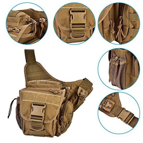 Vbestlife Tactical Backpack 3 2Colors Durable Men Military Chest Shoulder Bag Pack Military Sling Bag Chest