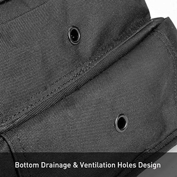 Weanas Tactical Backpack 4 Weanas Tactical Sling Bag Pack Military Rover Shoulder Sling Backpack Molle Assault Range Bag with 4 Tactical D-Ring Clips