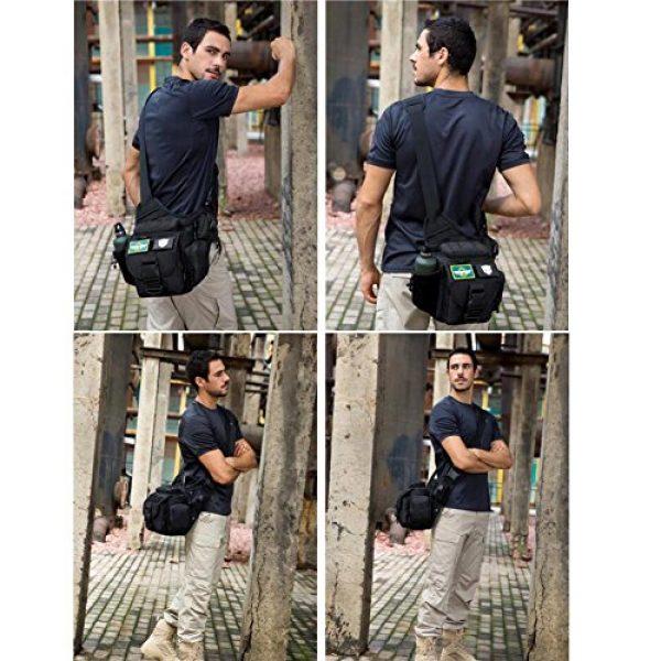 DYJ Tactical Backpack 7 DYJ Multi-Functional Tactical Camera Messenger Bag Fishing Tackle Bag Military Shoulder Bag Backpack EDC Sling Pack for Hiking Camping Trekking Cycling